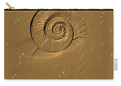 Golden Fantasy. Shell. Abstarct. Beautiful Home Collection 2015 Carry-all Pouch