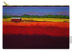 Golden Field Carry-all Pouch by David Patterson