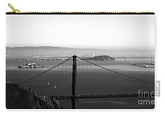 Golden Gate And Bay Bridges Carry-all Pouch