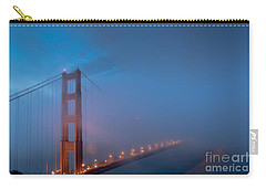Golden Gate At Blue Hour Carry-all Pouch