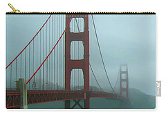Golden Gate Bridge And Partial Arch In Color  Carry-all Pouch