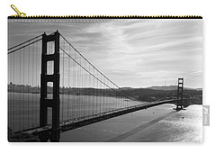 Golden Gate Bridge In Black And White Carry-all Pouch
