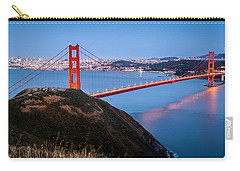 Carry-all Pouch featuring the photograph Golden Gate Bridge by Mihai Andritoiu