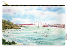 Golden Gate Bridge View From Point Bonita Carry-all Pouch