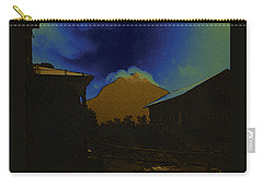 Carry-all Pouch featuring the photograph Golden Gate Peak El Dorado Old Tucson Arizona 1967-2009 by David Lee Guss