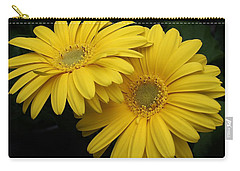 Golden Gerbers Carry-all Pouch by Bruce Bley