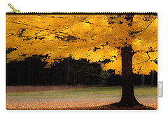 Golden Glow Of Autumn Fall Colors Carry-all Pouch by Jeff Folger