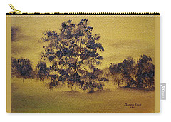 Golden Landscape Carry-all Pouch by Judith Rhue