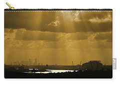 Golden Light Carry-all Pouch by Linda Unger