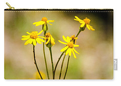 Golden Ragwort Carry-all Pouch