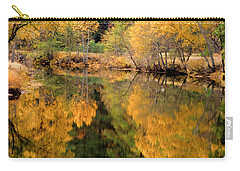 Golden Reflections Carry-all Pouch