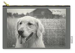 Golden Retriever The Way Carry-all Pouch