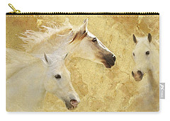 Golden Steeds Carry-all Pouch