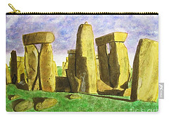 Golden Stonehenge Carry-all Pouch