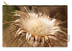 Golden Thistle Carry-all Pouch by Kerri Mortenson