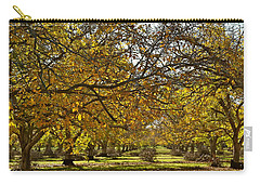 Golden Walnut Orchard Carry-all Pouch by Michele Myers