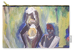 Golden Waterfall Music Carry-all Pouch