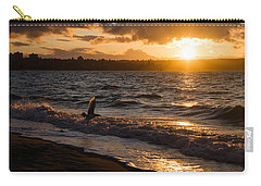 Golden Wings Golden Water Carry-all Pouch