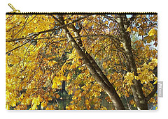 Golden Zen Carry-all Pouch by Chalet Roome-Rigdon