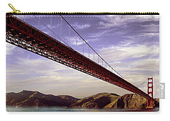 Goldengate Bridge San Francisco Carry-all Pouch by Bob and Nadine Johnston