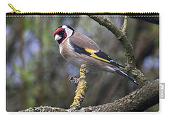 Goldfinch Carry-all Pouch by Richard Thomas