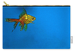 Goldfish Study 4 - Stone Rock'd Art By Sharon Cummings Carry-all Pouch