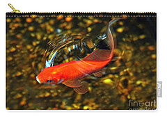 Goldfish Swimming Carry-all Pouch