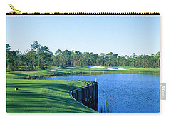 Golf Course At The Lakeside, Regatta Carry-all Pouch by Panoramic Images
