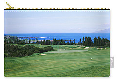 Golf Course At The Oceanside, Kapalua Carry-all Pouch