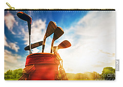 Golf Equipment  Carry-all Pouch by Michal Bednarek