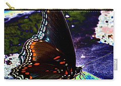 Gona-fly-butterfly Carry-all Pouch by Kim Pate