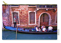 Carry-all Pouch featuring the photograph Gondola 4 by Allen Beatty