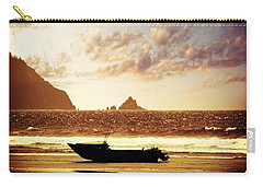 Carry-all Pouch featuring the photograph Gone Fishin' by Aaron Berg
