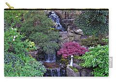 Carry-all Pouch featuring the photograph Gone Fishing. Keukenhof Gardens. Holland by Ausra Huntington nee Paulauskaite