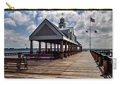 Carry-all Pouch featuring the photograph Gone Fishing by Sennie Pierson