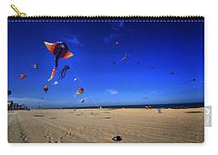Gone Flyin Carry-all Pouch by Robert McCubbin