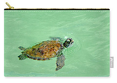 Carry-all Pouch featuring the photograph Good Day For A Swim  by Susan  McMenamin