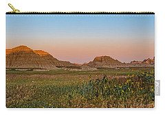 Carry-all Pouch featuring the photograph Good Morning Badlands II by Patti Deters
