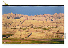 Carry-all Pouch featuring the photograph Good Morning Badlands I by Patti Deters