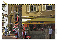 Carry-all Pouch featuring the photograph Good Morning Monaco by Allen Sheffield