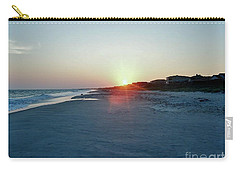 Carry-all Pouch featuring the photograph Good Night Day by Roberta Byram