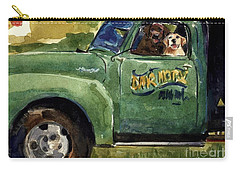 Good Ole Boys Carry-all Pouch by Molly Poole