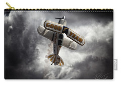 Carry-all Pouch featuring the photograph Good Year Cloud by Paul Job