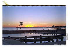 Carry-all Pouch featuring the photograph Goodbye Sun by Roberta Byram