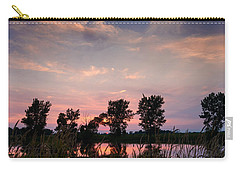 Goose Lake Prairie Sunset Carry-all Pouch