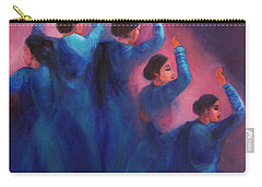 Gopis Dancing In The Dusk Carry-all Pouch