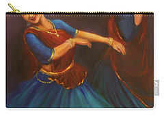 Gopis Dancing To The Flute Of Krishna Carry-all Pouch