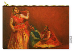 Gopis Distressed As Krishna Is Not Seen Carry-all Pouch