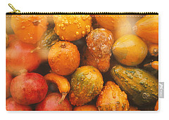 Carry-all Pouch featuring the photograph Gorgeous Gourds by Ira Shander