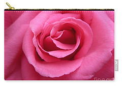 Carry-all Pouch featuring the photograph Gorgeous Pink Rose by Vicki Spindler